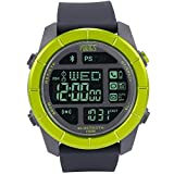 Youngs Bluetooth 4.0 Phone Incident Reminded The Seconds APP 100M Waterproof ISO Android Smart Watches (Green)