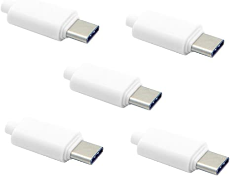 Cablecc Set Bestehend Aus 5 Stück 24pin Usb 3 1 Typ C Elektronik