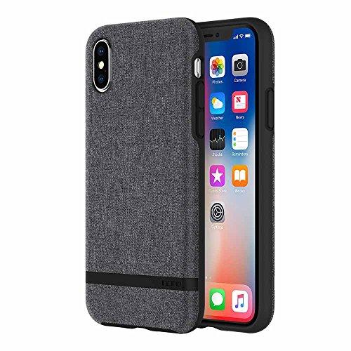 Incipio IPH-1631-GRY Apple IPhone X Esquire Series Case - Gray from Incipio