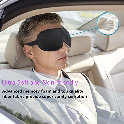 Sleep-Mask-3-Pack-Night-Eye-Mask-for-Sleeping-with-Adjustable-Strap-Comfortable-Soft-for-Women-Men-Sleeping-Aid-3D-Contoured-Blindfold-for-Travel-Shift-Work-Blocks-Light-Black-Purple-Red