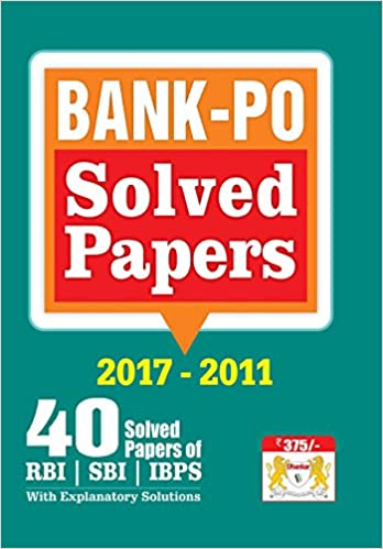 Bank PO Previous year Papers (SBI, RBI, IBPS, Other Bank)