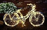 PEULED Led Christmas Lights, 4 Pack 120V 100Led
