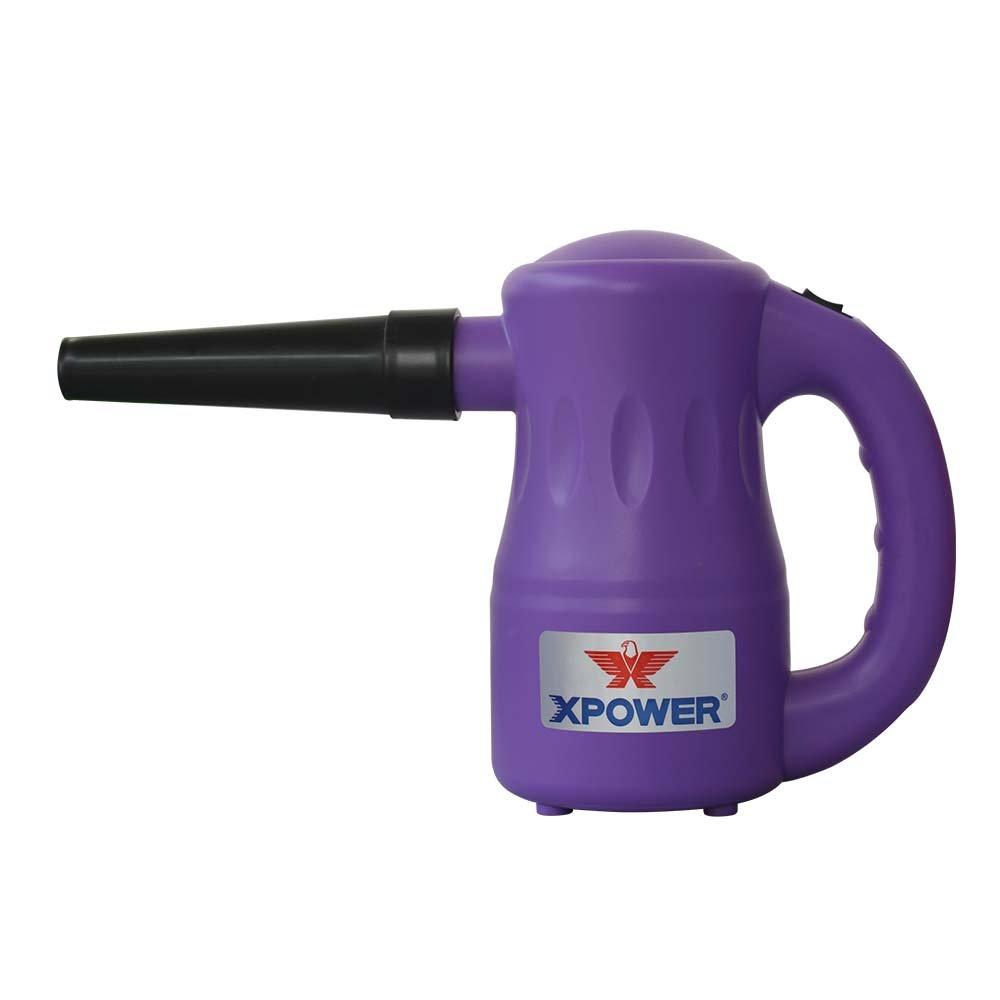 XPOWER Portable Multipurpose Pet Dryer/Electric Duster, 2.7 lb, Purple by XPOWER
