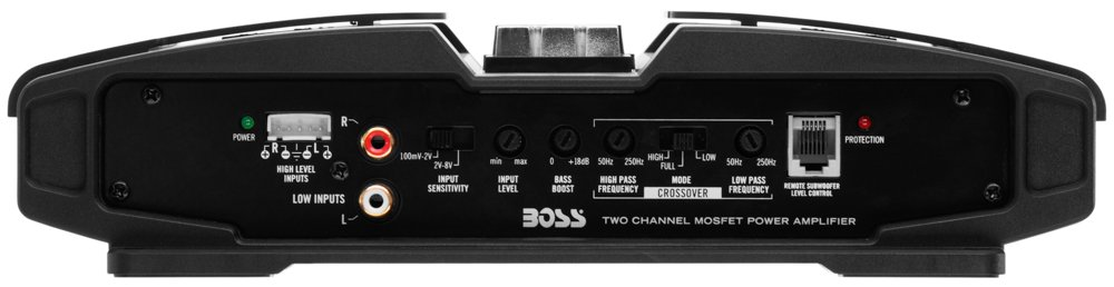 BOSS Audio pt2200/ Phantom 2200/ W Amplificateur 2/ canaux classe A//B