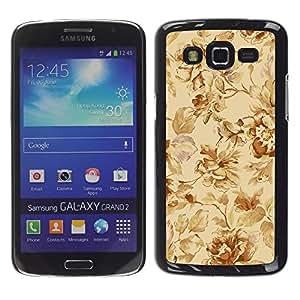 TopCaseStore / la caja del caucho duro de la cubierta de protección de la piel - Classical pattern - Samsung Galaxy Grand 2 SM-G7102 SM-G7105