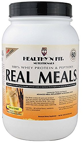 Healthy'N Fit Nutritionals Real Meals Vanilla Shake -- 2.09 lbs by Healthy'N Fit Nutritionals