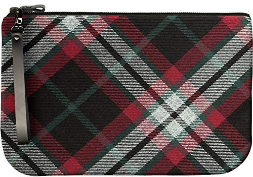 to Bag with Enough an Medium Leather iPad Large Fit Lindsay Clutch Tartan ZqxwEw18F