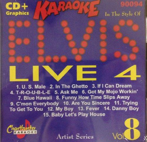 Pro Artist: Elvis Live 4 by Chartbuster Karaoke
