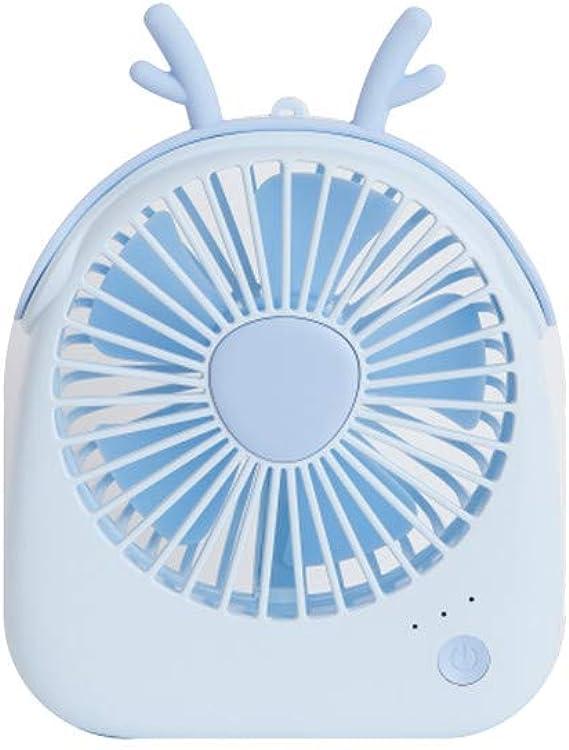 JiaMeng Mini portátil USB Recargable de Mano Aire Acondicionado refrigerador de Verano Ventilador Pequeño Personal Portátil para la Oficina, Hogar,Viajar, Acampar, Cochecitode Bebé: Amazon.es: Ropa y accesorios