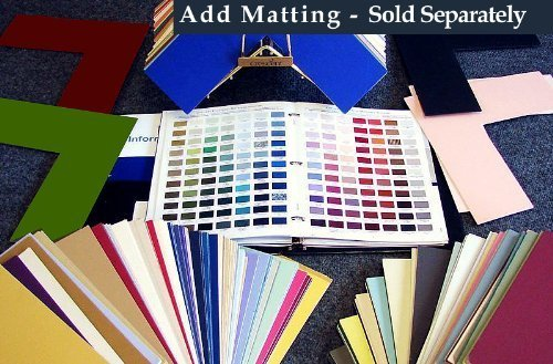 24x36 Mat Board Uncut Variety Pack 25 Assorted Colors