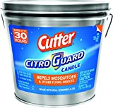 Cutter Citro Guard 17 oz Insect Repellent Bucket Candle, Silver