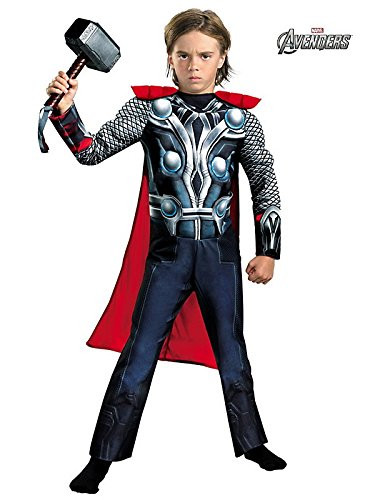 Thor Muscle Costumes - Thor Movie Classic Muscle Child Costume