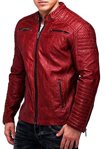 Red Bridge Hombres chaqueta de imitación de cuero de la ...