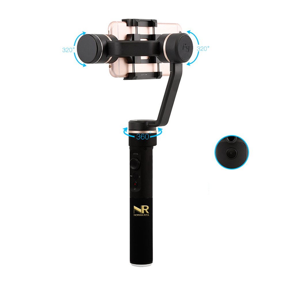 Normia Rita 3-Axis Handheld Gimbal Stabilizer Cloud Platform Stabilizer/Face Tracking/Timelapse/Panorama Shooting/Smart Remote Control/Vertical Shooting