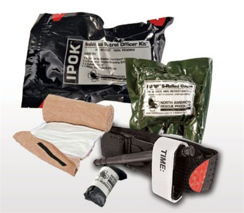 North American Rescue Individual Patrol Officers Ipok Kit by North American Rescue