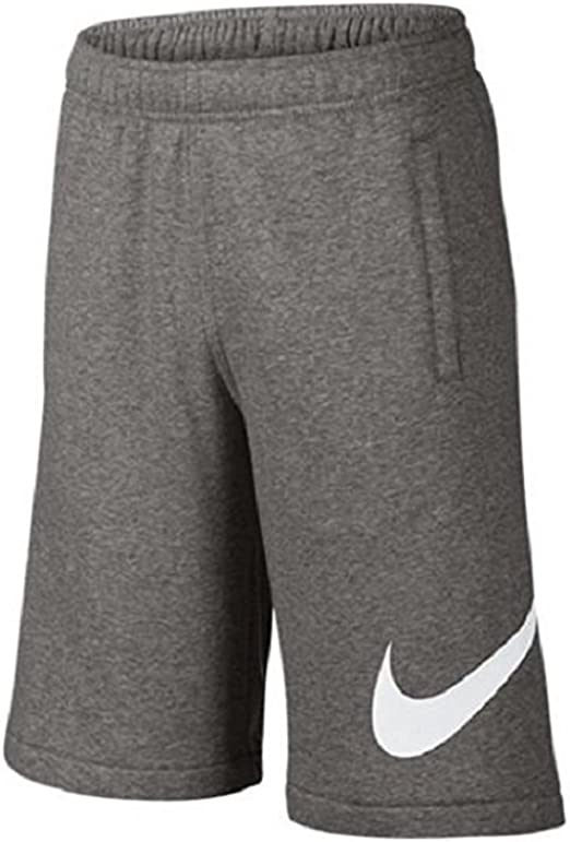 Nike Boys Club Exploded Fleece Swoosh Shorts#810359 063 (X