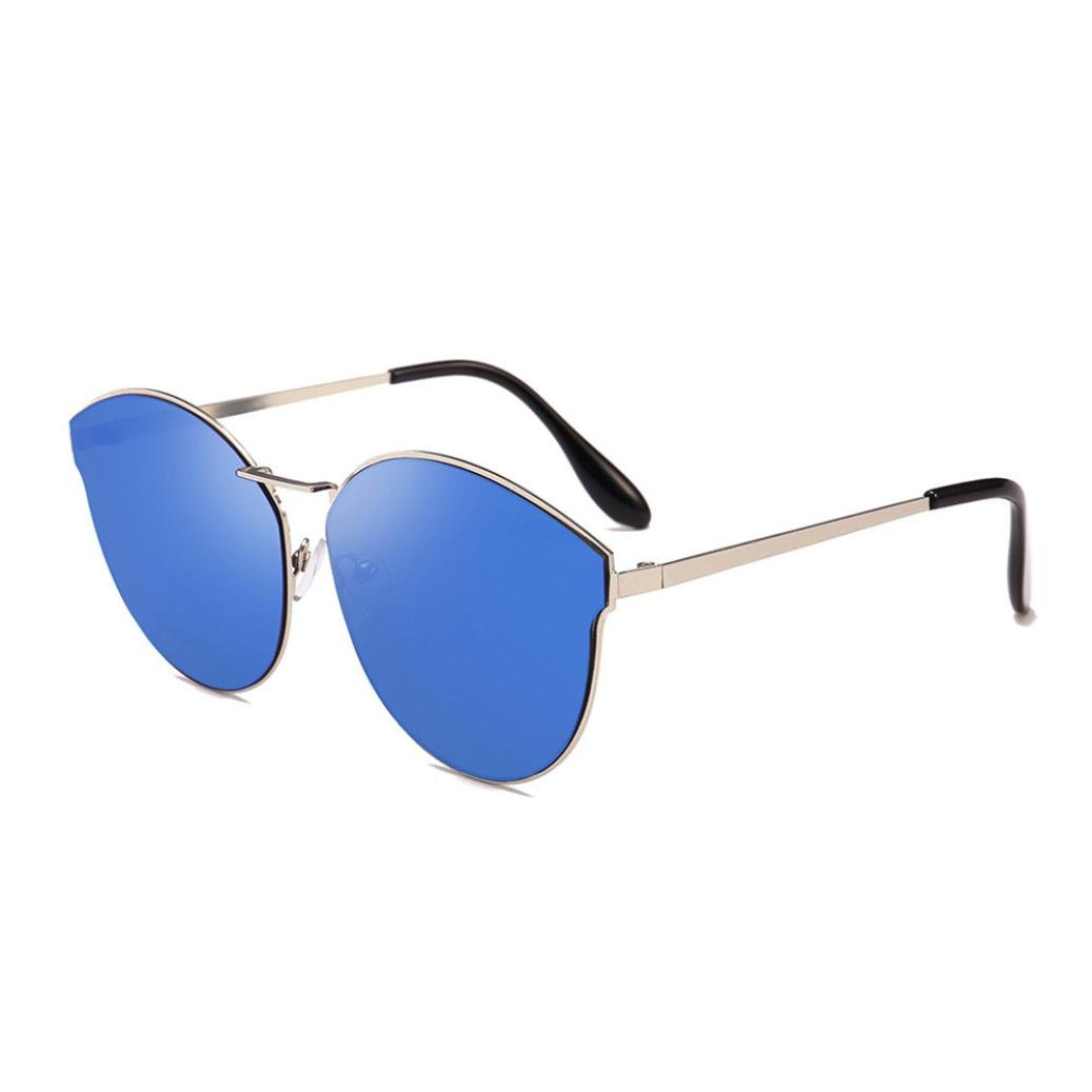 Hot Sale! Womens Mens Spring Summer Sunglasses, Retro Shades Integrated UV Polarized Glasses Fashion Eyewear for Outdoor Travelling Driving Cycling Running Fishing Golf (E)