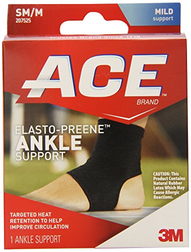 ACE Elasto-Preene Ankle Support, Small/Medium (Ace Ankle Support)