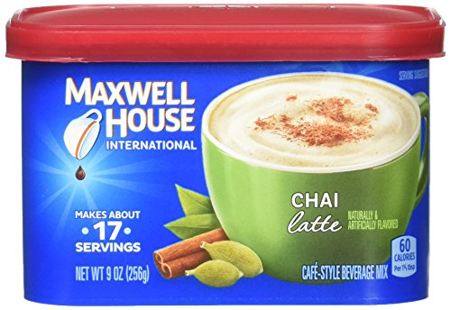 (Maxwell House International Cafe Chai Latte Instant Coffee (36 oz Canisters, 4-Count))