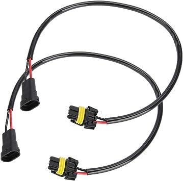 2x Adapter HB4 auf H8 H11 Stecker Anschluss Verbindung KFZ PKW Nebelscheinwerfer