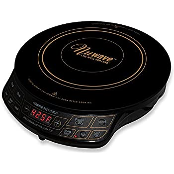 Amazon Com Nuwave Pic Gold 1500w Portable Induction