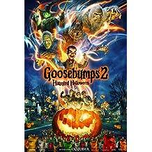 GOOSEBUMPS 2 HAUNTED HALLOWEEN MOVIE POSTER 2 Sided ORIGINAL Advance 27x40