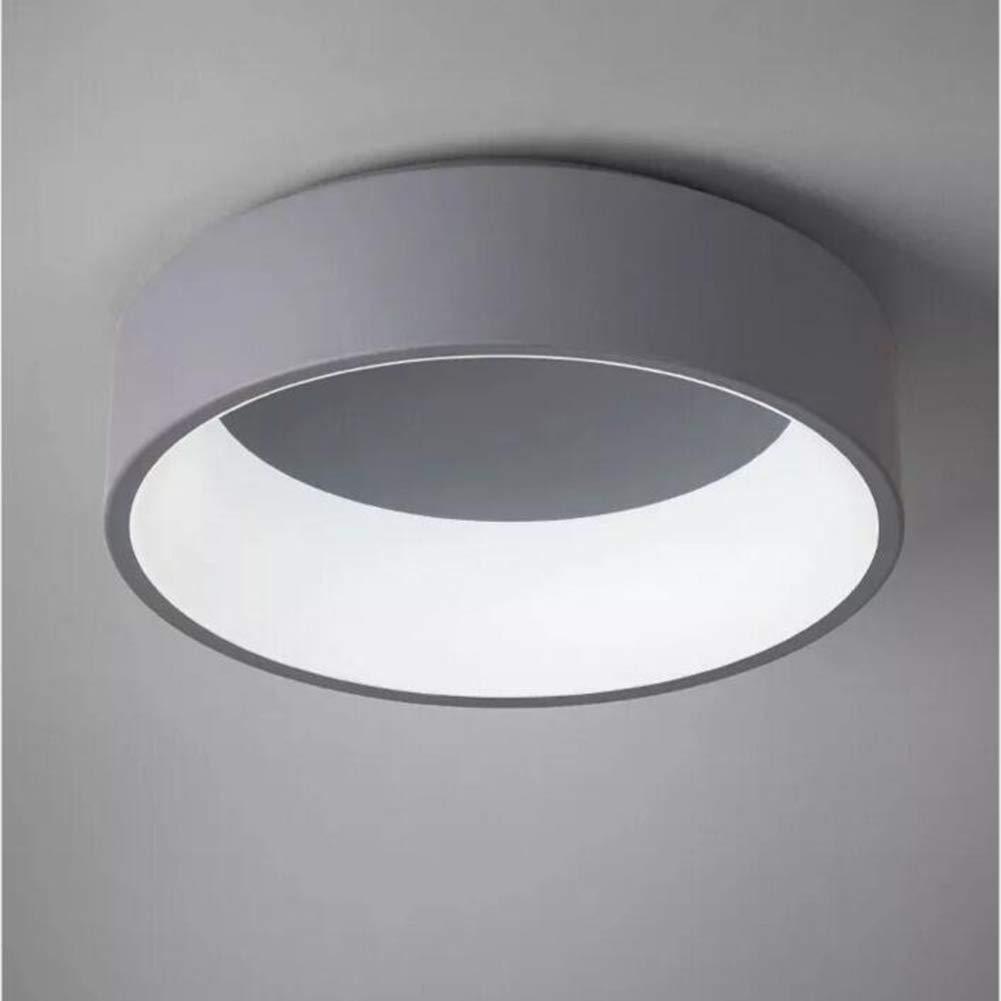 LED シーリングライト, モダンなシンプルさ天井の光, レストランの照明, バスルーム, リビングルーム, 廊下, バルコニー, 書斎, オフィス, ベッドルーム, 廊下, ゲストルーム,Gray B07J6HK88J Gray