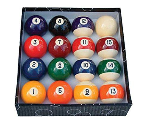 Satz mit 16 Poolbällen - Billiard Billiardtisch Partyraum Spielraum Spielzeugraum Jugendzimmer