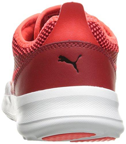 Puma Kvinners Duplex Evo Ftur Minimal Wns Mote Sneaker Rød Blast / Barbados C