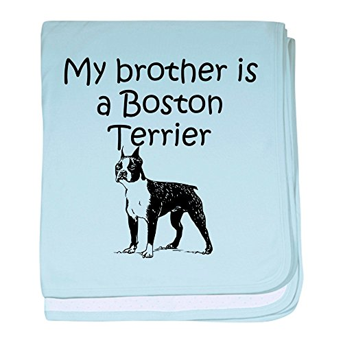 CafePress - My Brother is A Boston Terrier - Baby Blanket, Super Soft Newborn Swaddle