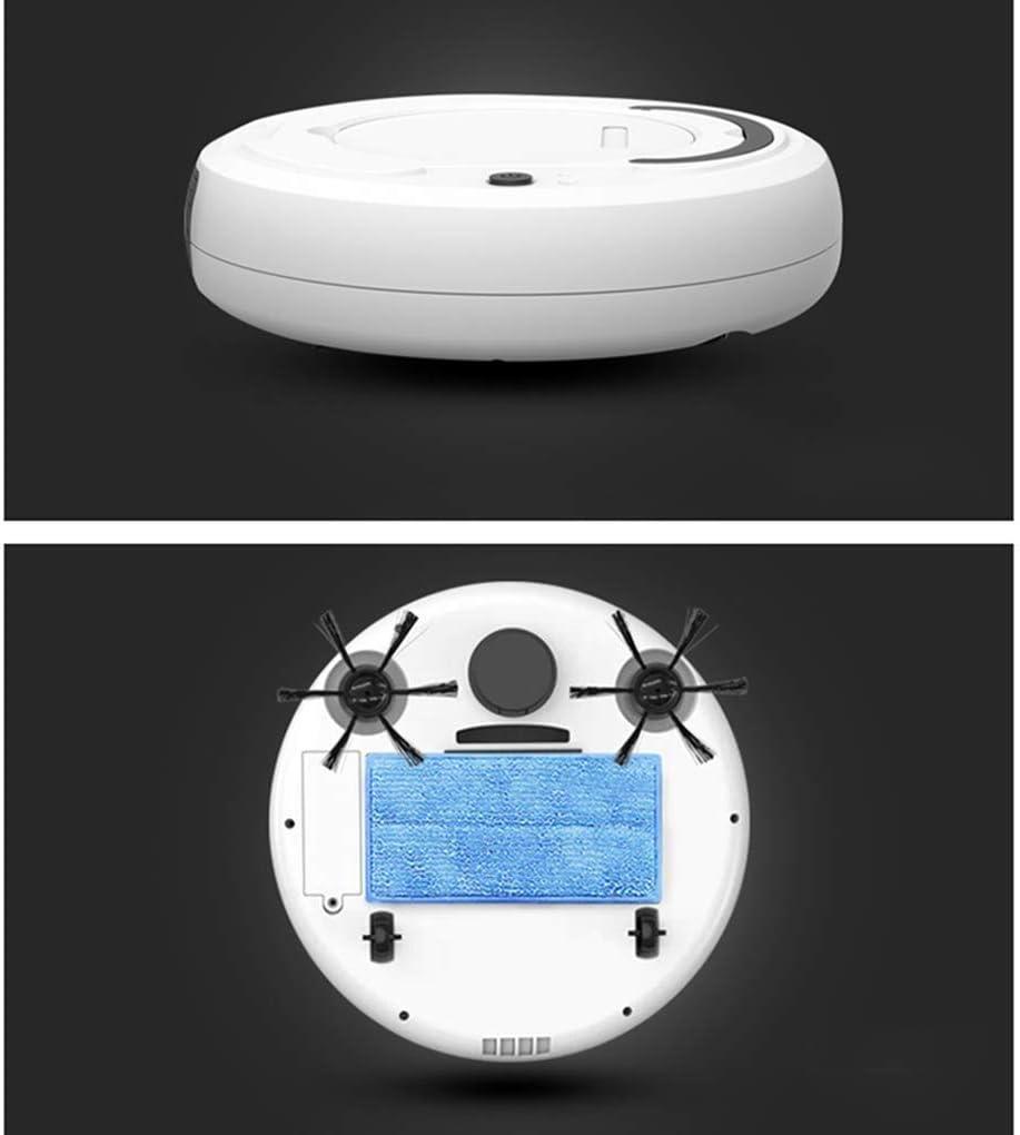 Lcxligang Lazy Automatique Robot Balayer Maison Nettoyage Aspirateur électrique Balayer Mopping Machine, Gyroscope Navigation (Color : Gray) Gray