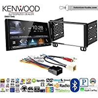 Volunteer Audio Kenwood DMX7704S Double Din Radio Install Kit with Apple CarPlay Android Auto Bluetooth Fits 2002-2005 Explorer, 2001-2004 Mustang