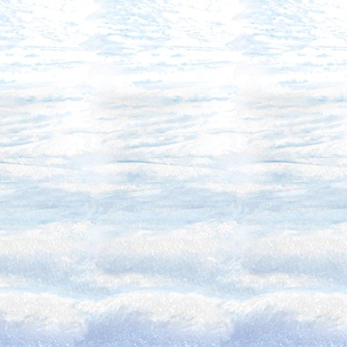 Snowscape Backdrop Party Accessory (1 count) (1/Pkg)]()