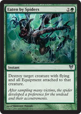 Green Spider (Magic: the Gathering - Eaten by Spiders (177) - Avacyn Restored)