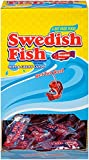 Swedish Fish Soft & Chewy Candy,  Original( 0.21-Ounce, 240-Count, individually wrapped)