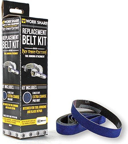 Work Sharp WSSAKO81114 Tool Grinder Attachment Replacement Belt - Grinder Sharp Work