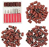 extractor bit 300pcs 80/120/180 Grit Drill Sanding Bands with 6 Replacement Bits Set by Greenmarkets