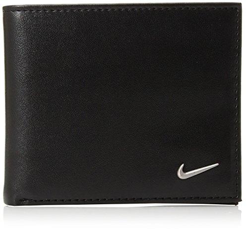 Nike Men's COLOR BLOCKED BILLFOLD WALLET Accessory, -black/black, One Size