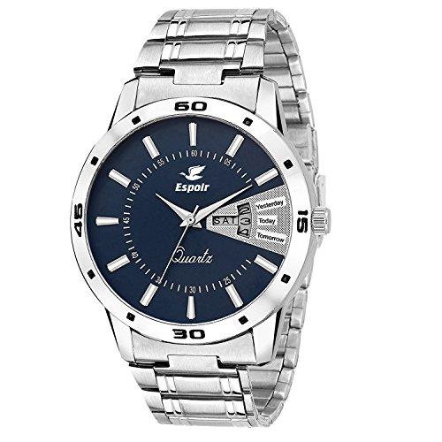 buy espoir analog blue dial men s watch esp12457 online at low