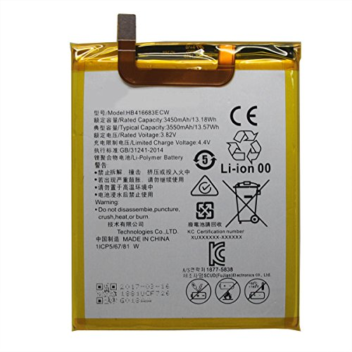 Price comparison product image UoUo Battery Replacement For Huawei Google Nexus 6P Battery HB416683ECW