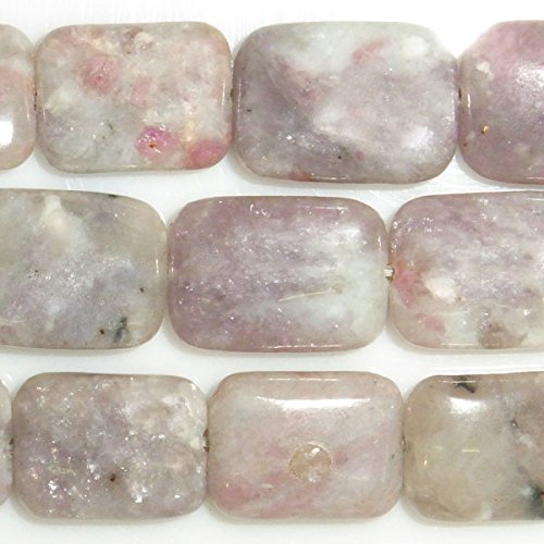 Pink Tourmaline Bead Necklace - TheTasteJewelry 8x10mm Rectangle Pink Tourmaline Beads 15 inches 38cm Jewelry Making Necklace Bracelet Healing Power