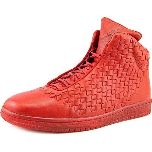 Nike Mens Jordan Brillare Scarpe Da Basket In Pelle Varsity Rosso