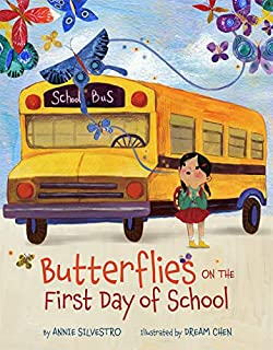 Book Cover: Butterflies on the First Day of School