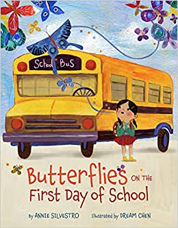 Image result for butterflies on the first day of school