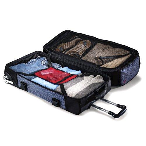 51SJmNWELEL - Samsonite Luggage Ripstop Wheeled Duffel 30, Blue