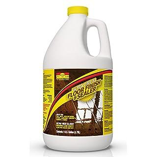 Ultra HIGH Gloss 33% Solids Floor Finish Wax - 1 Gallon (More Durable, Less Coats, Less Labor)