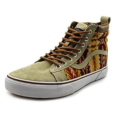 Vans Unisex Sk8-Hi MTE Pendleton/Tribal/Tan Skate Shoe 9.5 Men US / 11 Women US