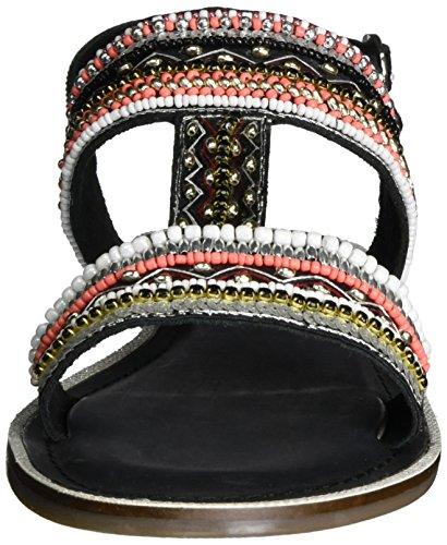 Sandal Mujer Schwarz Black Sandalias Bullboxer 0wUq40