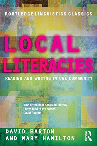 Local Literacies (Routledge Linguistics Classics)