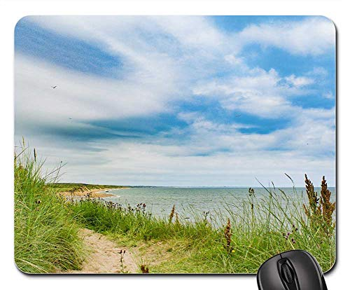 (Mouse Pad - Aberdeen Beach Grass Seaside Sea Sky Water)